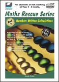Thumbnail Maths Rescue    Bk 4 Number: Written Calculations  (NZ Version)