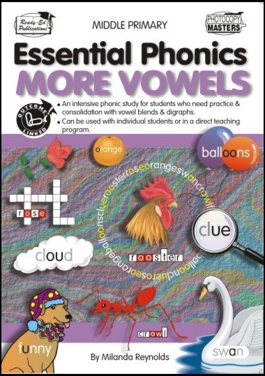 Product picture Essential Phonics: More Vowels  (NZ Version)