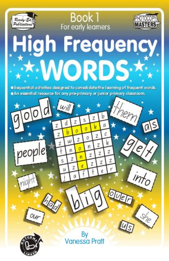 Product picture High Frequency Words Bk 1  (NZ Version)