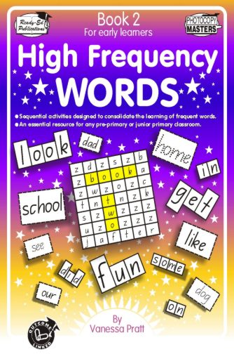 Product picture High Frequency Words Bk 2  (NZ Version)